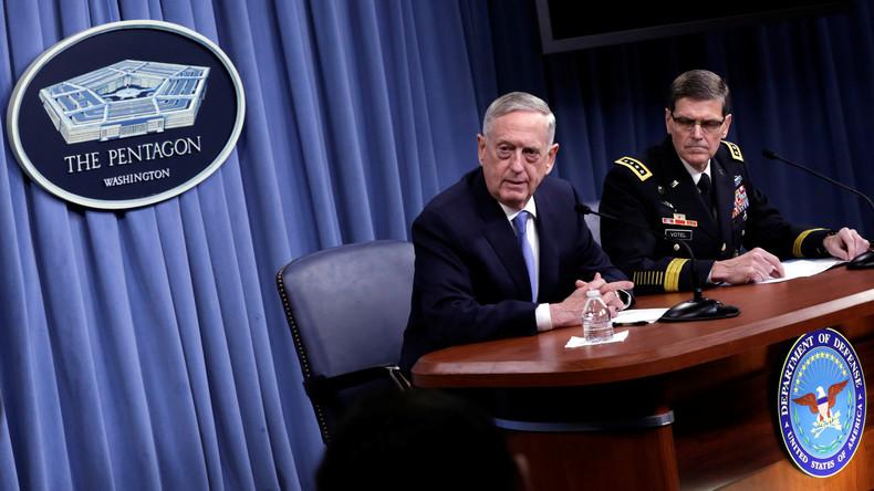 Pentagon: Syrien-Einsatz nicht durch Schutzzonen beeinträchtigt