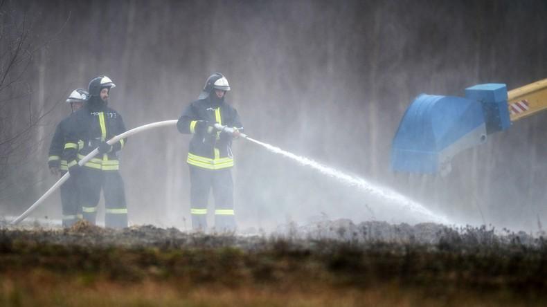 Feuerwehr löscht alle Waldbrände im Gebiet Irkutsk