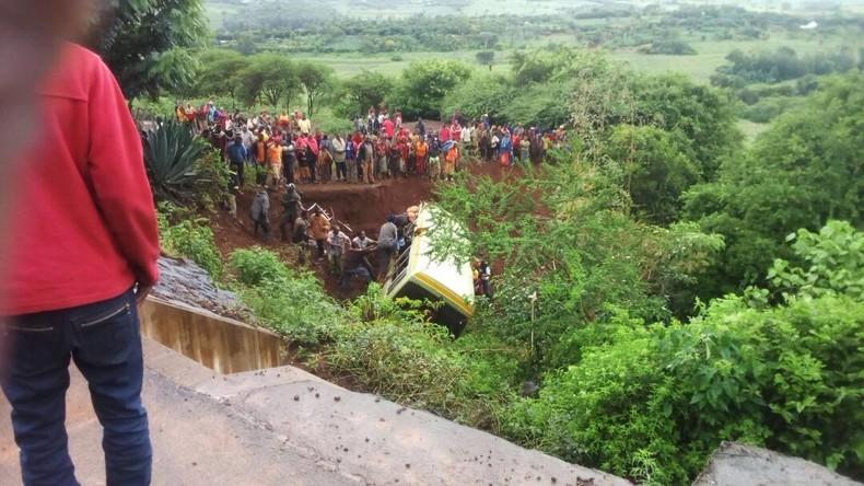 Busunfall in Tansania fordert mindestens 34 Menschenleben