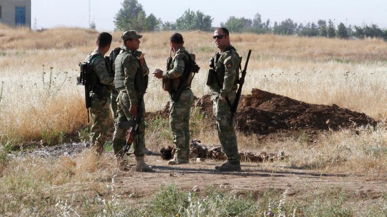 IS-Kämpfer greifen Militärstützpunkt in Nordirak an