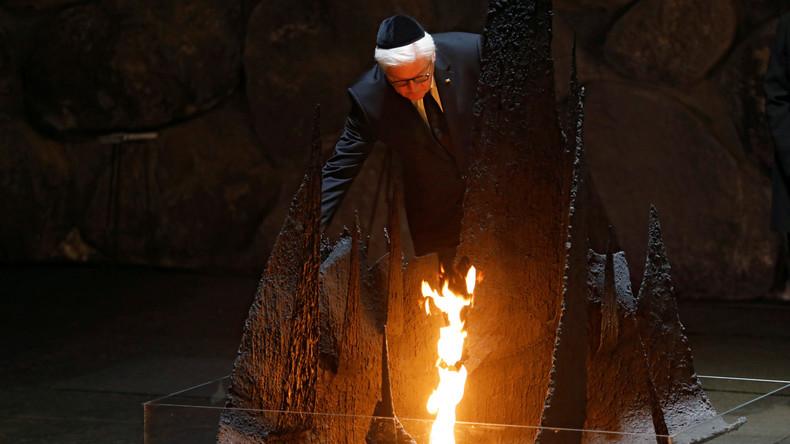 Frank-Walter Steinmeier besucht Holocaust-Gedenkstätte Yad Vashem