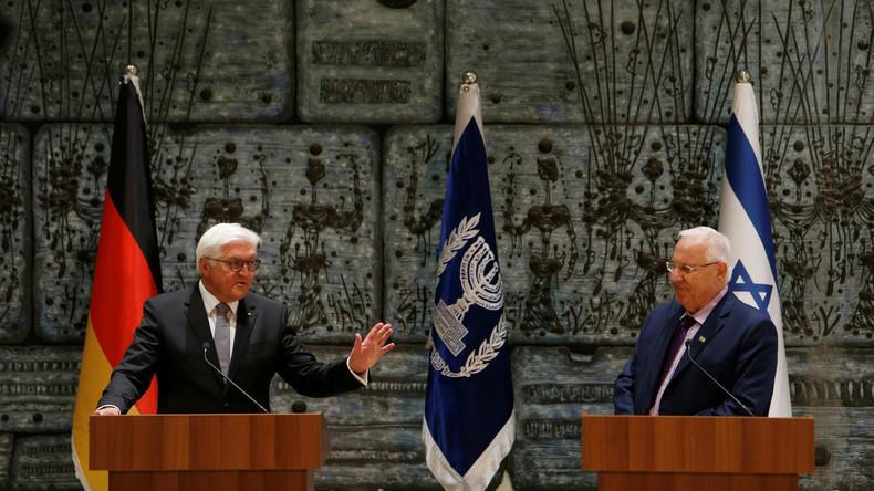 Frank-Walter Steinmeier kritisiert israelische Reaktion auf Gabriels Israel-Besuch