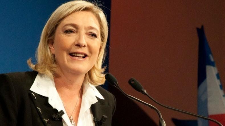 Stichwahl in Frankreich: Liveübertragung der Wahlveranstaltung von Marine Le Pen