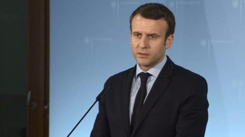 Frankreich: Ansprache von Emmanuel Macron