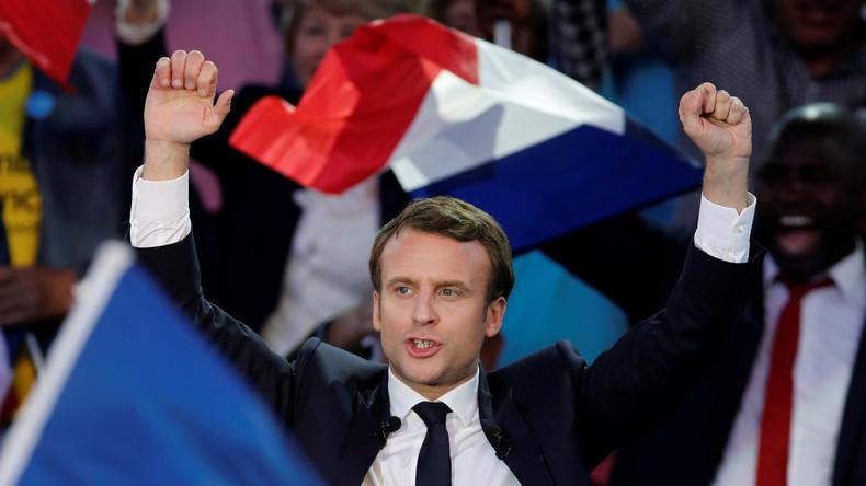 Jüngster Präsident aller Zeiten: Macron gewinnt Präsidentenwahl in Frankreich