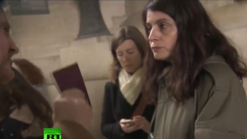 """RT erneut von Macron-Party ausgeschlossen: """"Bis sie erfuhren, wo ich arbeite, war ich Willkommen"""""""