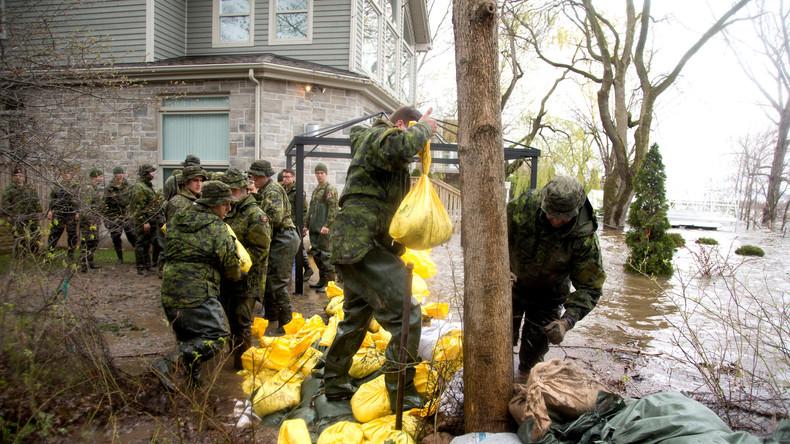Montreal ruft Notstand wegen Überschwemmungen aus