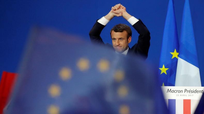 Emmanuel Macron: Der Ein-Viertel-Präsident
