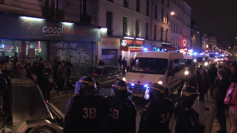 Paris: Dutzende Festnahmen bei Protest nach Sieg von Macron