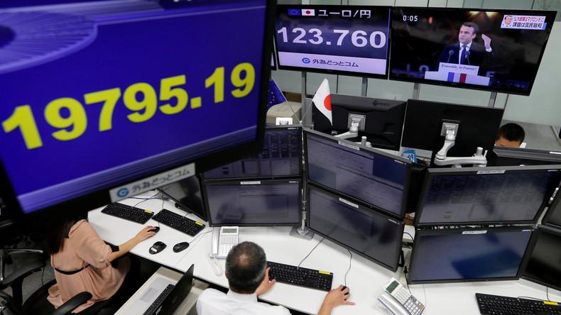 Euro fällt trotz Wahlsieg Macrons