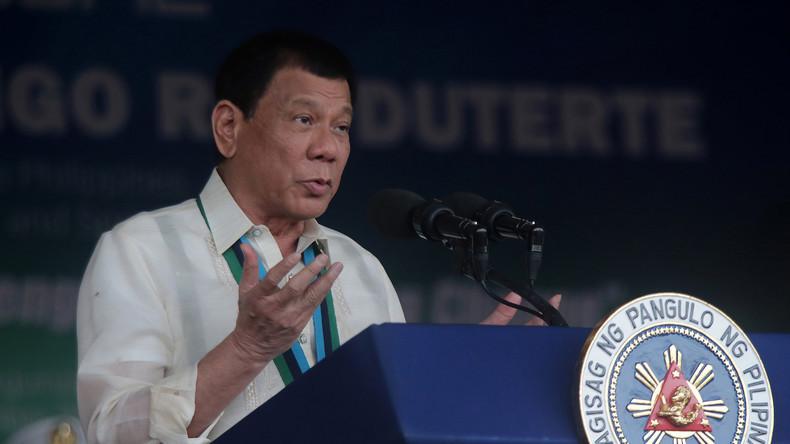 """Duterte an Soros: """"Für dich ist ein spezieller Platz in der Hölle - und ich schick' dich dorthin"""""""