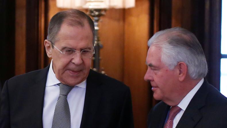 Treffen zwischen Lawrow und Tillerson am Mittwoch in Washington