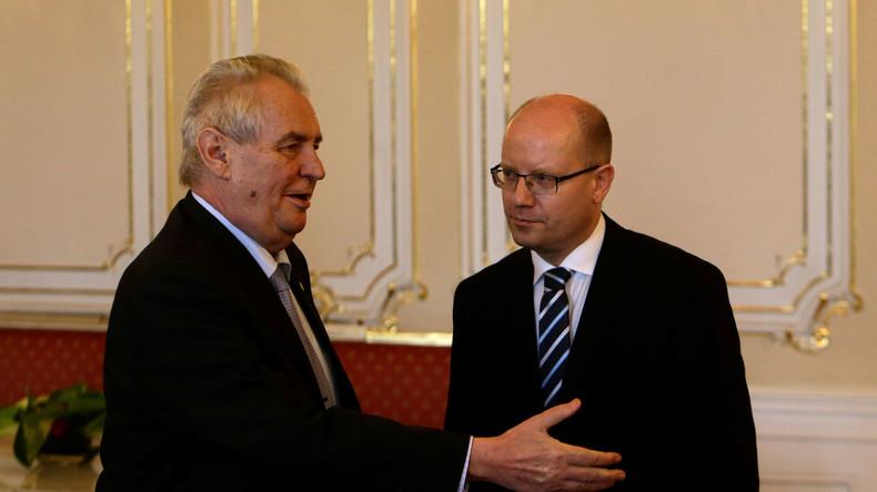 Tschechischer Präsident meldet sich in Regierungskrise zu Wort