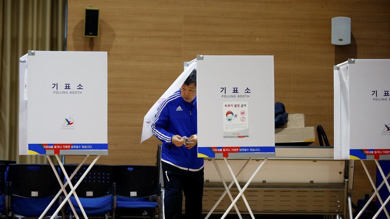Präsidentenwahl in Südkorea angelaufen: Favorit will Diplomatie mit Pjöngjang wiederbeleben