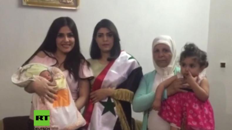Syrer benennt seinen Neugeborenen nach dem russischen Präsidenten.