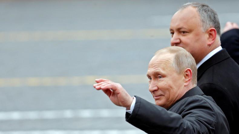 Putin ruft zum Tag des Sieges zu gemeinsamen Kampf gegen Terrorismus auf