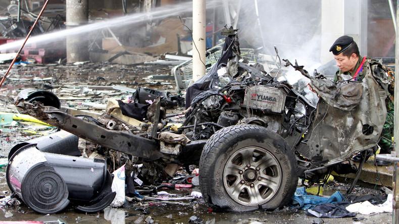 Bombenexplosion im thailändischen Pattani: Mehr als 40 Verletzte