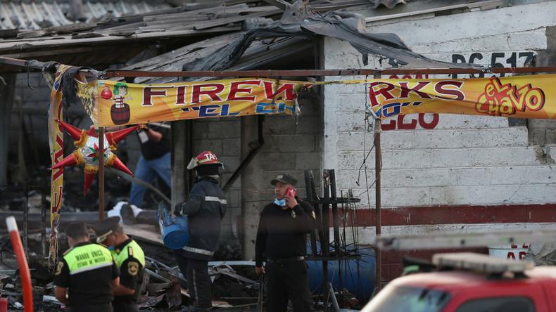 Mindestens 14 Tote bei Explosion von Pyrotechnik in Mexiko