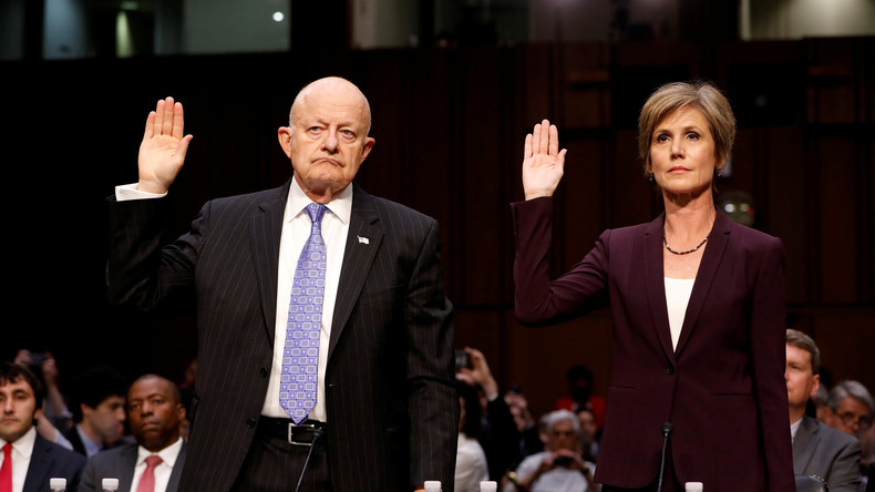Viel heiße Luft: US-Senat befragt Zeugen zu Verbindungen von Trump zu Russland