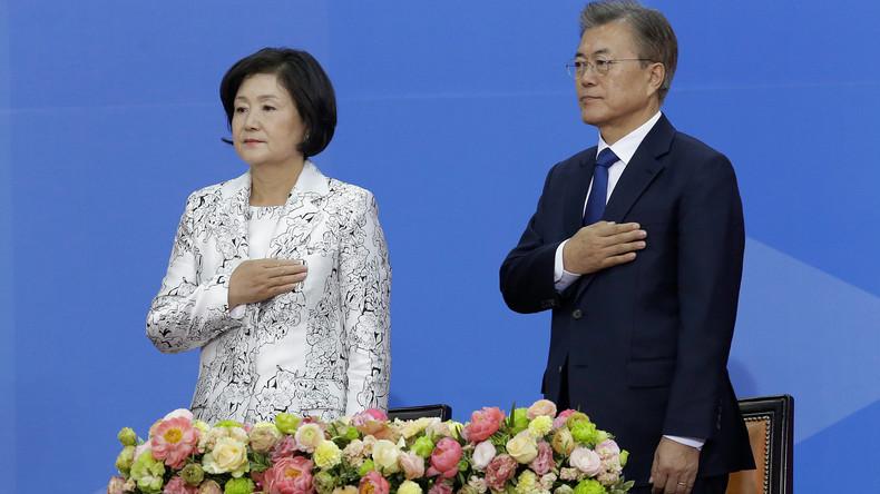 Neuer Präsident Südkoreas ins Amt eingeführt