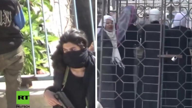 """Syrien: """"Käfiggeiseln frei - Kämpfer ziehen ab"""" - Regierung erzielt wichtige Deals mit Gegnern"""