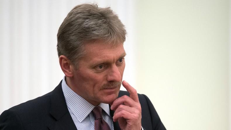 """Kreml-Sprecher zur Entlassung des FBI-Chefs James Comey: """"Das ist eine innere Angelegenheit der USA"""""""