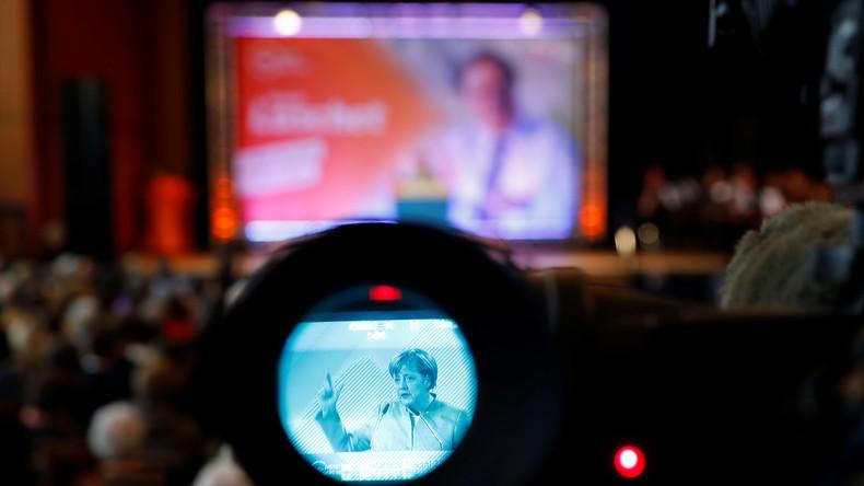 Merkel wirbt um Stimmen: Die Kanzlerin auf Wahlkampftour
