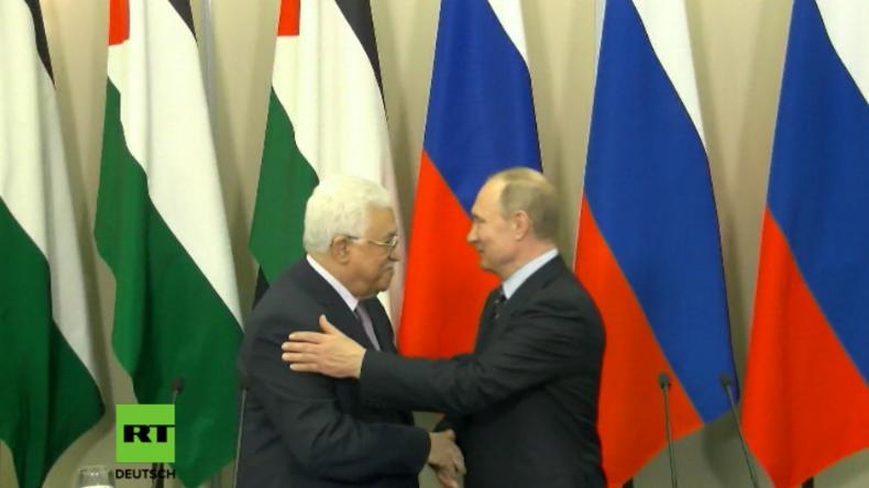 """Putin: """"Ich wünsche den Palästinensern aus tiefster Seele Frieden, Wohlbefinden und Wohlstand"""""""