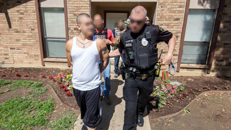 Massenverhaftungen in den USA: Homeland Security geht gegen kriminelle Gangs vor