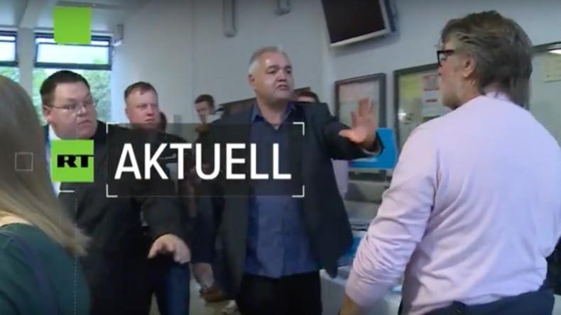 Turbulenter Start: Frauke Petry als Wahlkampfhelferin in NRW