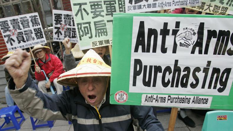 Zeichen gegen Peking: Donald Trump fördert den Waffenverkauf an Taiwan