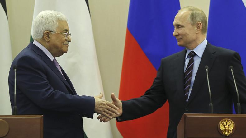 Putin zu Abbas: Friedliche Koexistenz zwischen Palästina und Israel grundlegend für Sicherheit