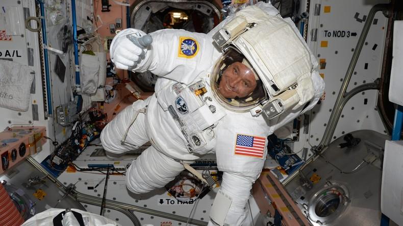 US-Astronauten beginnen 200. Außeneinsatz an Raumstation ISS