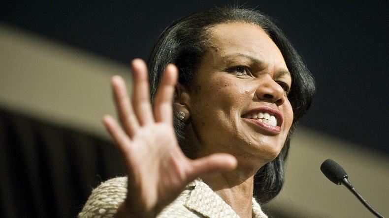 Frühere US-Außenministerin Rice: Im Irak wollten wir Saddam stürzen und nicht Demokratie bringen