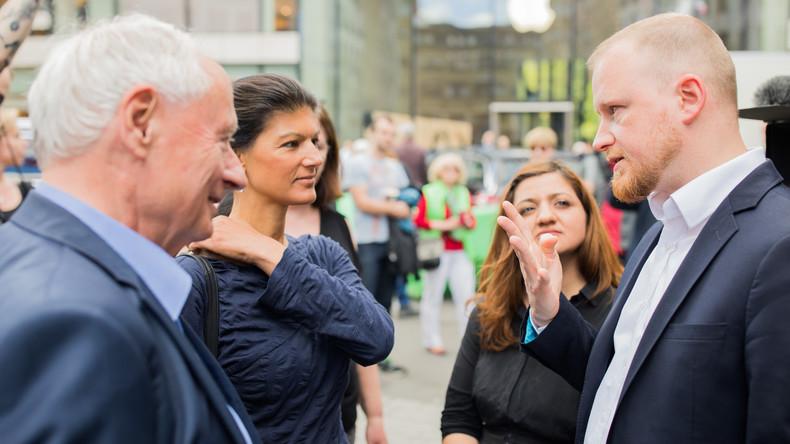 Schluss-Rennen bei Landtagswahl in Nordrhein-Westfalen: Wahlkampf bis zur letzten Stunde