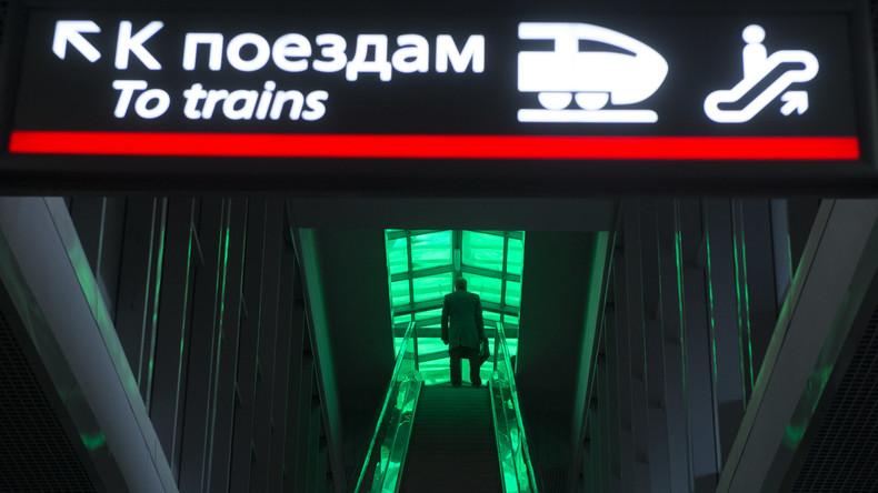 Russische Eisenbahn vermeldet Cyberangriff auf ihr IT-System