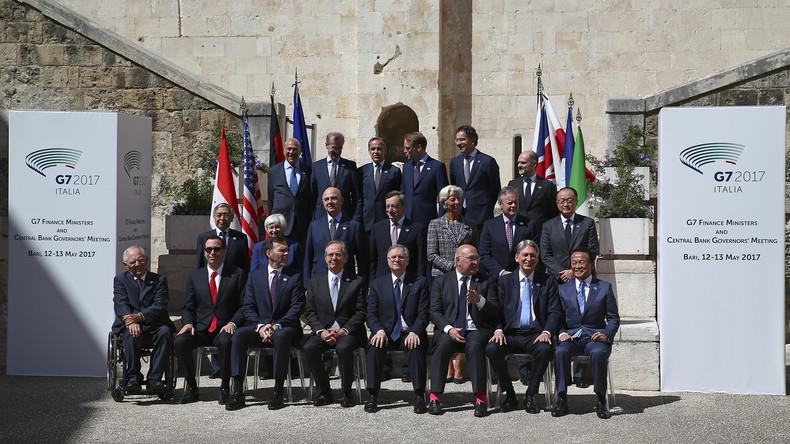 G7-Länder schließen nur Minimal-Kompromiss zu Freihandel