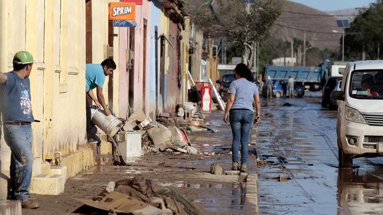 Mindestens zwei Menschen sterben bei Überflutungen in Chile
