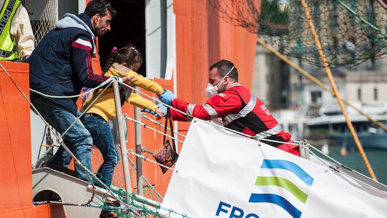 Wieder tote Flüchtlinge aus Mittelmeer geborgen