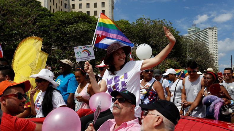 Schwule und Lesben demonstrieren gegen Homophobie in Kuba