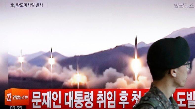 Nordkorea warnt USA nach Raketentest
