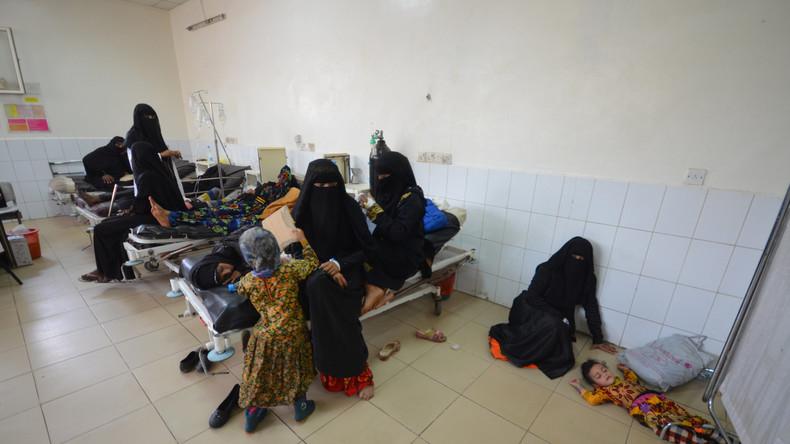 Jemen: Cholera-Ausbruch aufgrund des saudi-arabischen Bombenkriegs