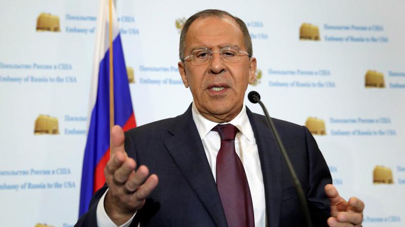 Lawrow: Entwürdigend für USA, wenn behauptet wird, Russland ziehe die Fäden der US-Innenpolitik