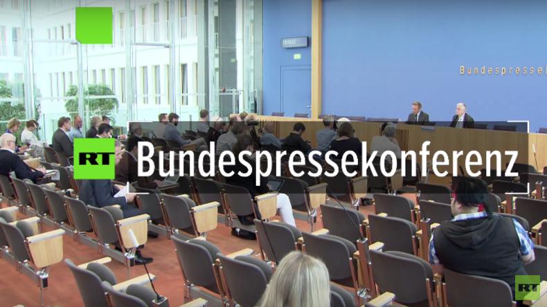 Bundespressekonferenz nach der NRW-Wahl : FDP gleich AfD?