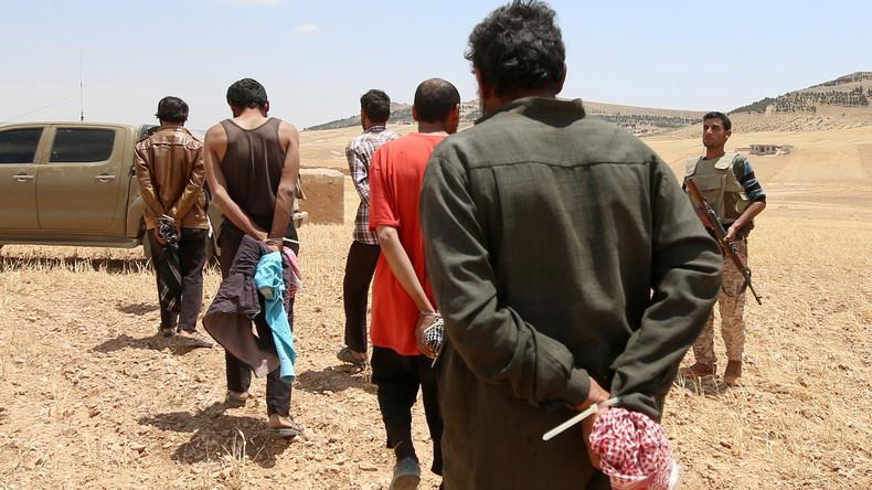 USA beschuldigen Syrien der Tötung Tausender Gefangener