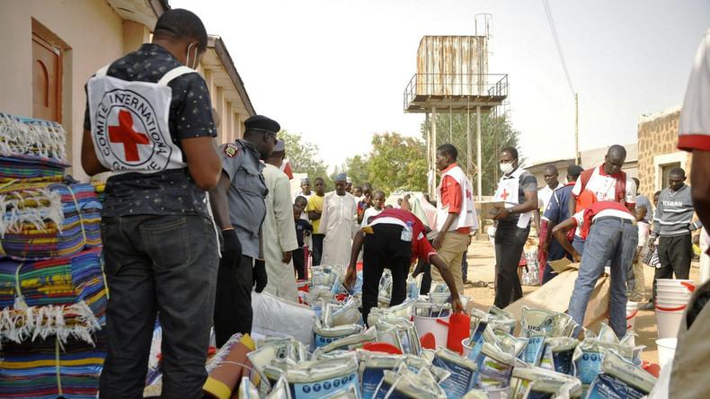 Vier Mitarbeiter des Roten Kreuzes in Mali entführt