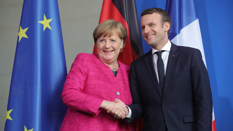Merkel und Macron zur Änderung von EU-Verträgen bereit
