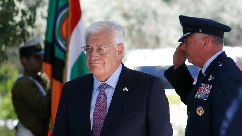 Neuer US-Botschafter in Israel tritt Amt an