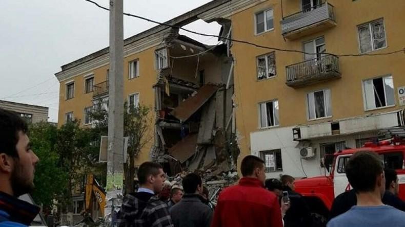 Zwei Menschen tot durch Gasexplosion in Wohnhaus in Wolgograd