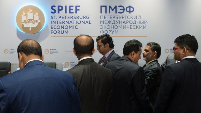 Fachleute bereiten sich auf Internationales Petersburger Wirtschaftsforum vor